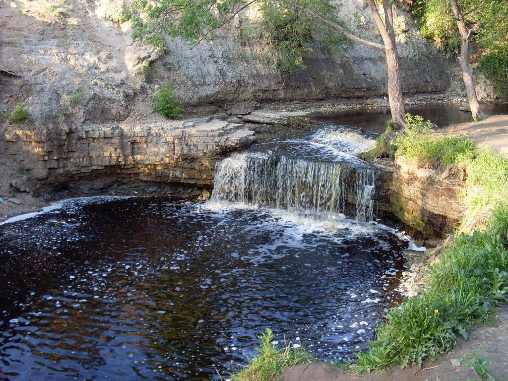 Саблинские водопады