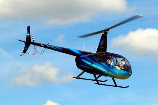 Полет на вертолете в группе