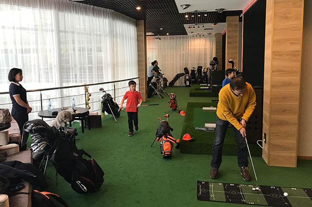Урок гольфа в спб