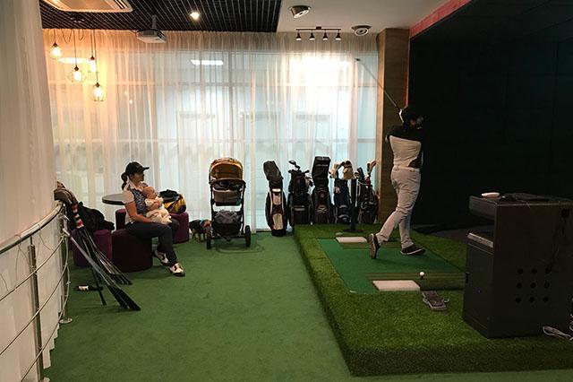 Тренажер golfzon спб