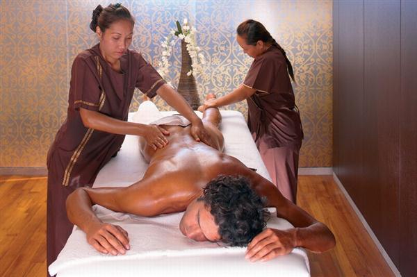 Имераторский массаж в 4 руки
