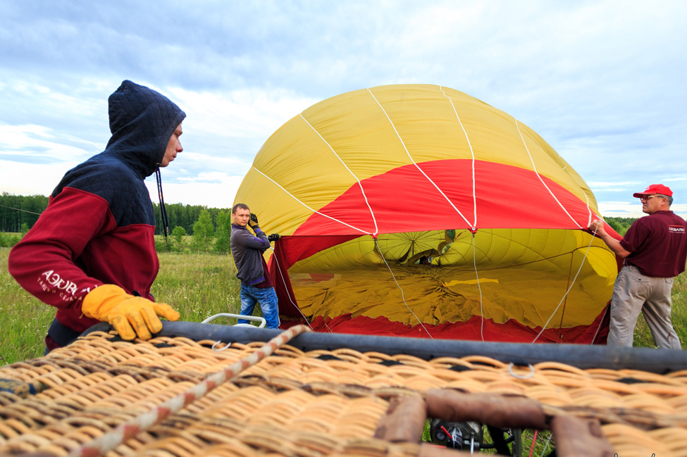 Воздушный шар в спб