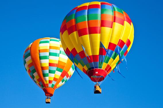 Полеты на воздушном шаре в спб