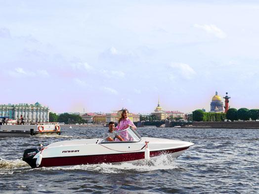 Аренда катера без капитана в Санкт-Петербурге