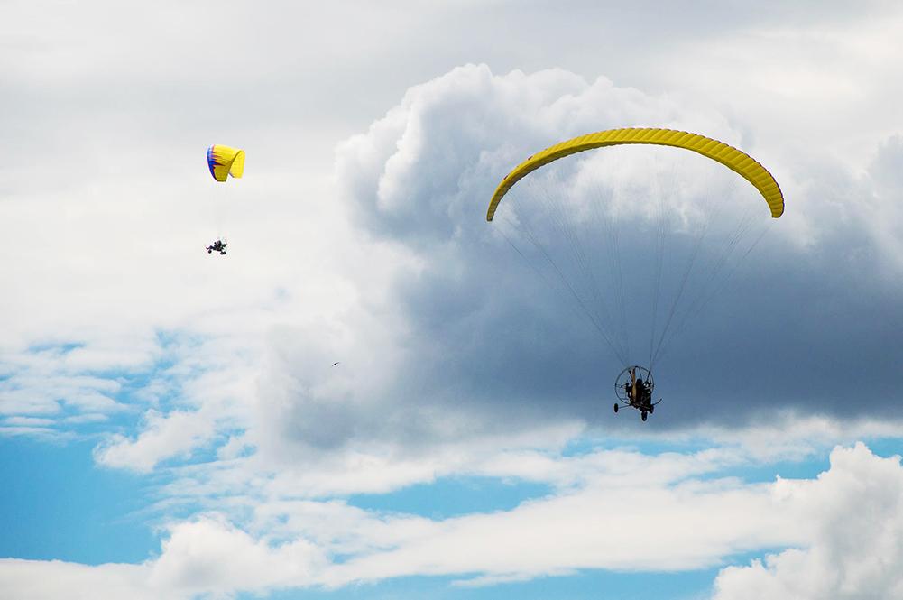 Полет на паралете спб