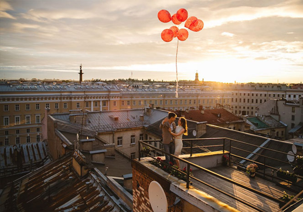 Индивидуальная прогулка по крышам