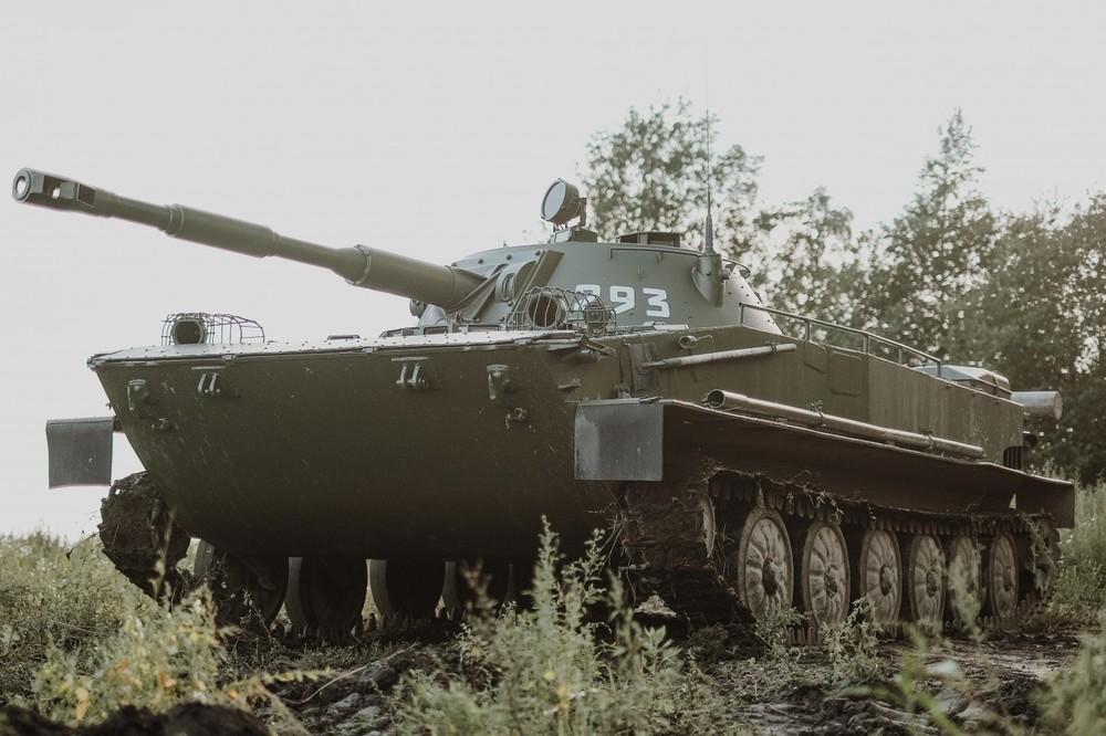 танк амфибия