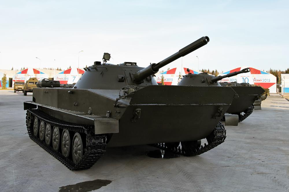 верхом на танке