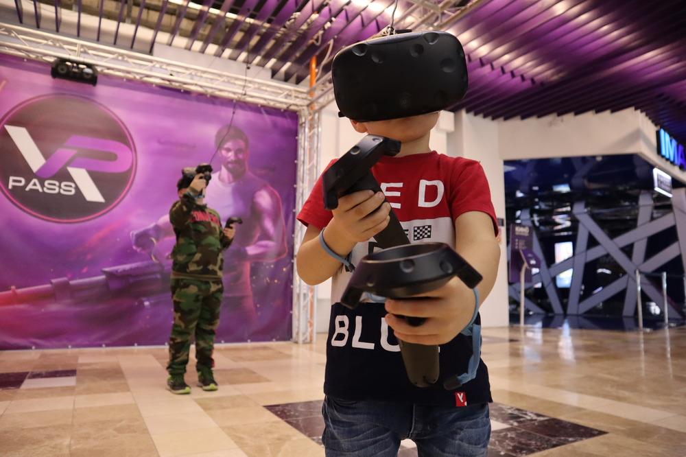 Посещение виртуальной реальности