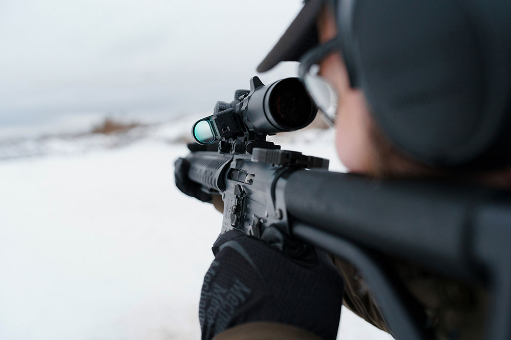 Стрельба из боевого оружия