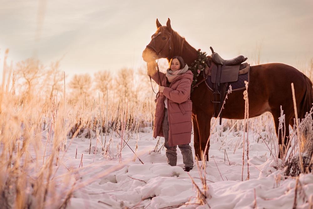 Фото с лошадьми в Санкт-Петербурге