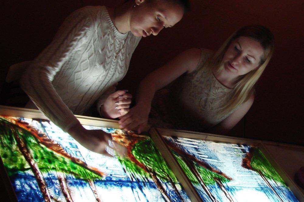 Обучение рисованию песком в СПб