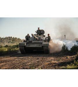Катание на танке Т-55