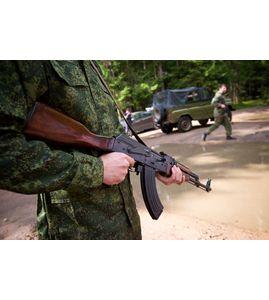 Стрельба из АК-47