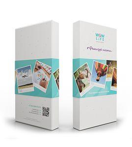 Подарочная коробка для сертификата на картинг