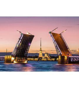 """Экскурсия на теплоходе """"Истории разводных мостов"""""""