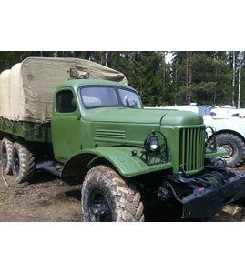 Управление военным грузовиком