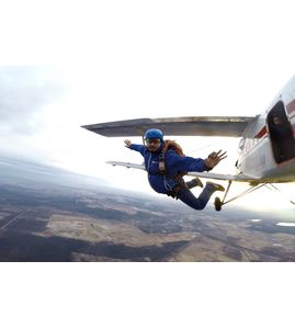 Самостоятельный прыжок с парашютом