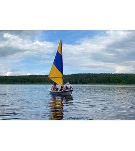 Мастер класс на парусной лодке