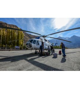 арендовать вертолет в спб