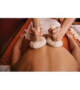 Тайский массаж с травяными мешочками «Дыхание Сиама»