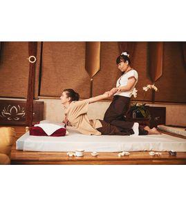 Традиционный тайский массаж и фут-массаж «Заряд бодрости»