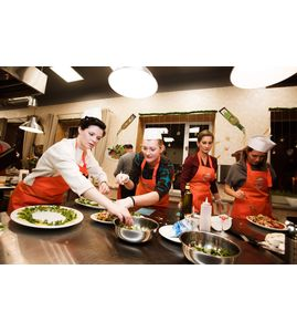 Кулинарный мастер-класс в Санкт-Петербурге