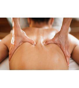 Аюрведический масляный массаж спины